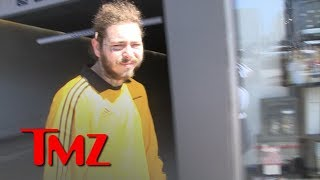 Post Malone Gets Emotional Talking About Mac Miller's Death | TMZ
