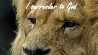 A Surrender Prayer with chrism