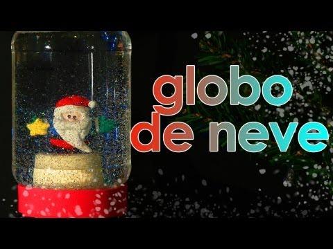 Globo de neve de Natal