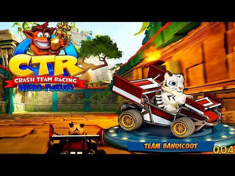 Crash Team Racing [004] Neuer Abschnitt & Neues Kart [Deutsch] Let's Play CTR
