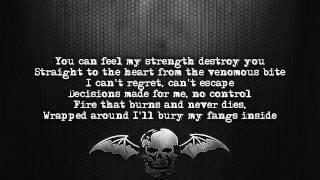 Avenged Sevenfold - Sidewinder [Lyrics on screen] [Full HD]