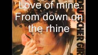 Adam and the ants - Deutscher Girls (Lyrics)