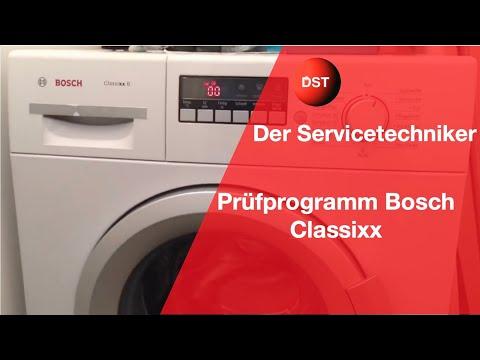 Prüfprogramm und Fehlerspeicher Siemens Bosch Constructa