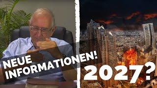 NEUE INFOS - WIEDERKUNFT JESU 2027? Walter Veith und viele Andere