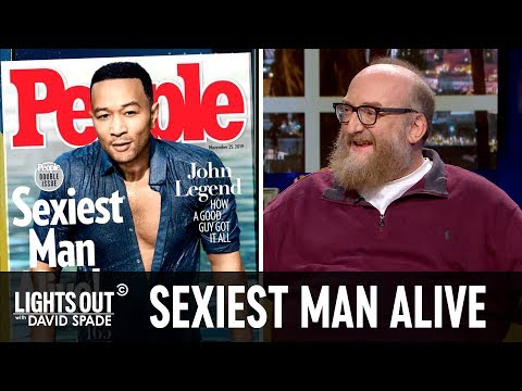 Is John Legend Really the Sexiest Man Alive? - Lights Out with David Spade
