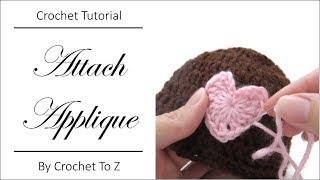 How to Attach Crochet Applique