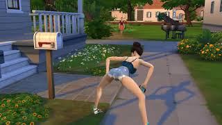 Тверк в Sims4