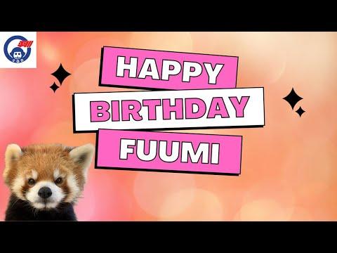 レッサーパンダの風美さんの誕生日