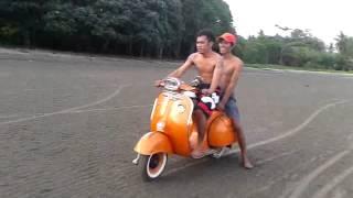 preview picture of video 'vespa gila anak luwu timur'