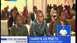Wanafunzi wa Chuo Kikuu cha Mount Kenya wateta Thika