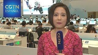Enlace desde el Centro de Prensa para la Cumbre de los BRICS - Wu Shuoyu