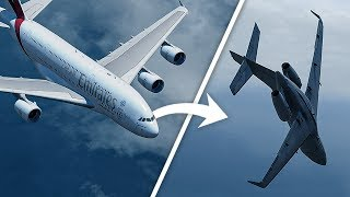 Airbus A380 Causes This Jet To Almost Crash Into The Ocean | Emirates Flight 412 & D AMSC