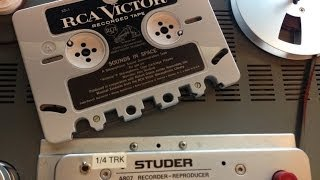 Rca Victor Soundtape, sounds in Space. AUDIORESTAURACION, SOUND RESTORATION LABS