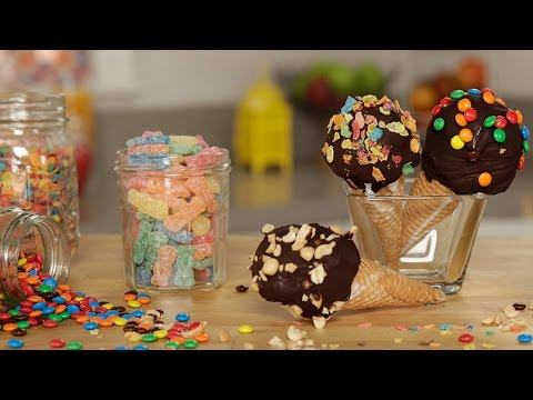 How to Make Ice Cream Drumsticks | Get the Dish