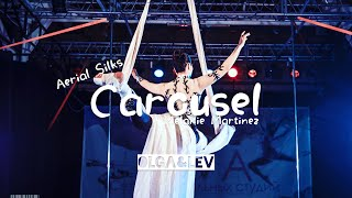 表演紀錄|Melanie Martinez - Carousel (綢吊Aerial Silks By Olga Lee) |Olga&Lev雜耍人生