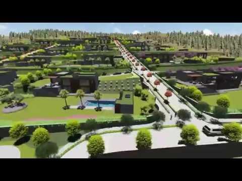 Sevilla Kekliktepe 3D Villa Tipleri