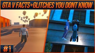 GTA V Facts and Glitches You Don't Know #1 (From Speedrunners)