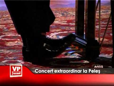 Concert extraordinar la Peleș