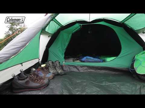 Coleman® Kobuk Valley 3 Plus -  Trekkingzelt mit Nachtschwarz-Schlafkabine für 3 Personen - DE