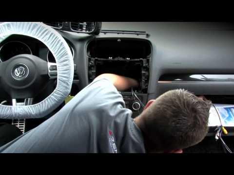 ZENEC NC2011D sistema di navigazione per veicoli Volkswagen, Istruzioni di montaggio