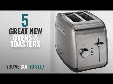 , KitchenAid KMT2116CU 2 Slice Slot Toaster with High Lift Lever, Contour Silver