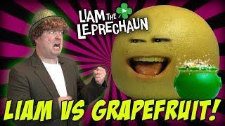 Liam The Leprechaun   Liam Vs. Grapefruit! (The Annoying Orange!)