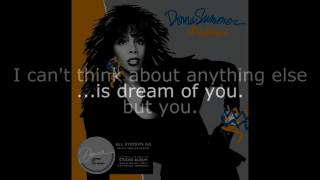 "Donna Summer - Fascination (LP Version) LYRICS SHM ""All Systems Go"" 1987"