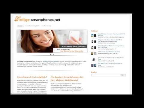 Aktuelle Billige Smartphones in der Übersicht