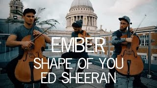 This instrumental cover of Ed Sheerans Shape of You by Ember Trio