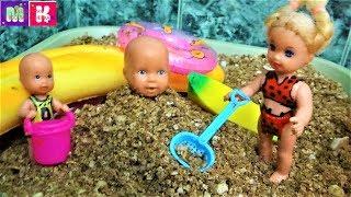 КАТЯ И МАКС ВЕСЕЛАЯ СЕМЕЙКА. СКВИШИ БАТОН ДЛЯ МАКСА #Мультики про кукол.