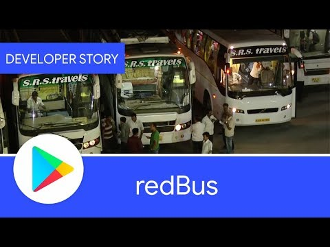 Vídeo do redBus - Bus and Hotel Booking