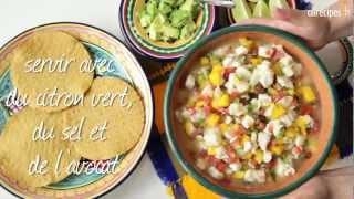 recette ceviche mexicain toutes les recettes allrecipes. Black Bedroom Furniture Sets. Home Design Ideas