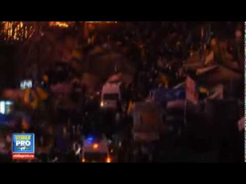 Terrible! Kiev Ukraine Protest 2014 continue Protesters Clashes With Police 25 People Dead and 350