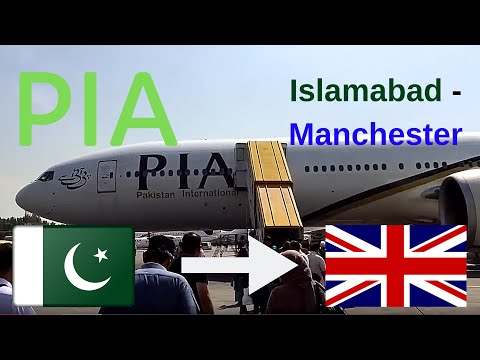 ✈️flight report✈️ Pakistan international airlines (PIA) PK701 Islamabad to Manchester B773