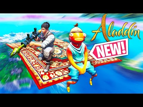 *NEW* ALADDIN In FORTNITE!!! - Fortnite Funny WTF Fails and Daily Best Moments Ep.1226
