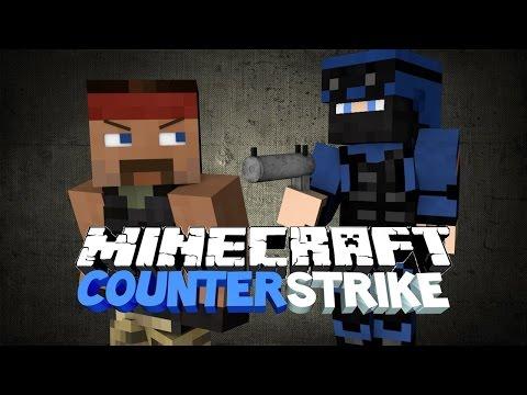 [Miko Hraje]Minecraft GameTeam Minigames CounterStrike w/MikadoskaTV