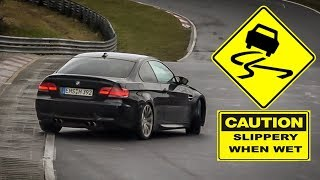 WHEN IT RAINS AT THE NÜRBURGRING, THE RWD