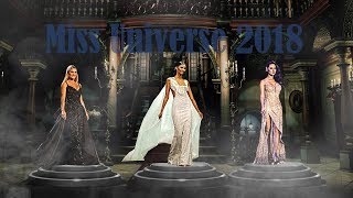 top 3 Miss Universe 2018