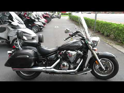 2012 Yamaha V Star 1300 Tourer in Sanford, Florida - Video 1