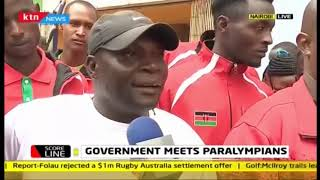 Scoreline: Government meets Paralympians