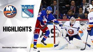 NHL Highlights   Islanders @ Rangers 1/13/20
