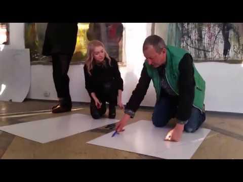Виставка Едуарда Бєльського | Волинські Новини - YouTube