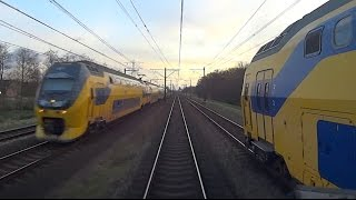 DUTCH TRAINS: ROLLING STOCK CAB VIEW Parallel Action Compilation 2014