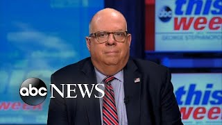 'I really can't explain' Trump's disinfectant comments: Gov. Larry Hogan | ABC News
