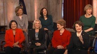 20 Female Senators Sworn in on Capitol Hill