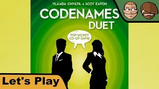 Codenames Duet - Brettspiel - Let's Play - GEN CON 2017
