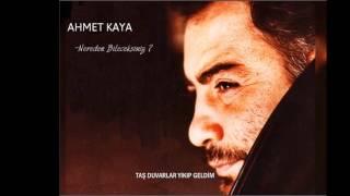 Ahmet Kaya - Nerden Bileceksiniz?( Lyric Video)