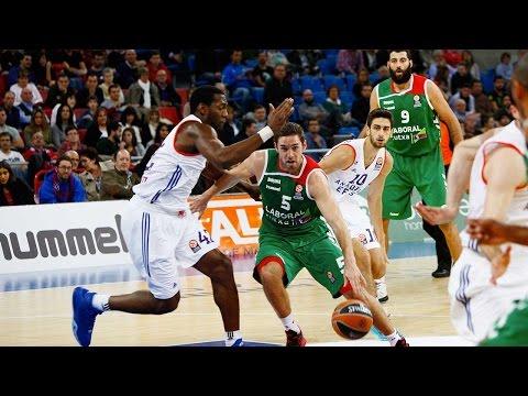 Highlights: RS Round 4, Laboral Kutxa Vitoria Gasteiz 92-90 Anadolu Efes Istanbul