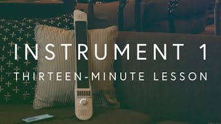 Introduction To The INSTRUMENT 1