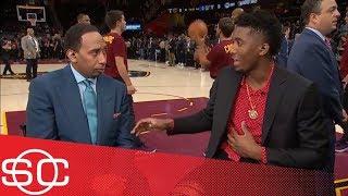 Donovan Mitchell shuts down Stephen A. Smith comparing him to LeBron James | SportsCenter | ESPN